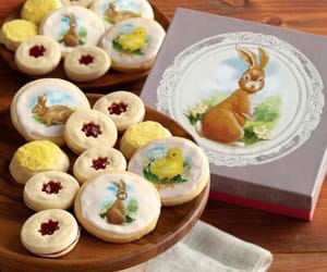 bunny, Cookies, and easter image