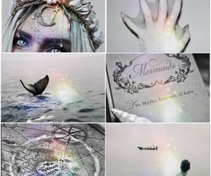 fairy tales, grey, and mermaid image