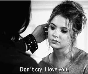 love, pretty little liars, and cry image