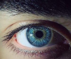 eyes, blue, and toni mahfud image