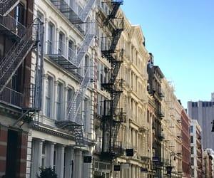new york, nyc, and soho image