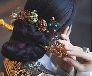 accessories, asian, and beauty image