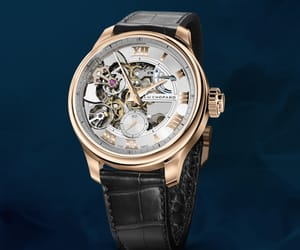 chopard, timepiece, and watch image