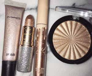 makeup, cosmetics, and mac image