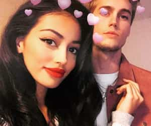cindy kimberly, couple, and neels visser image