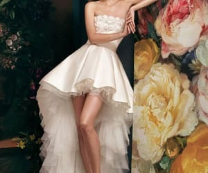 dress, fashion, and skirts image