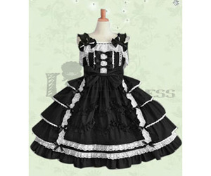 beautiful dress, lolita, and classic lolita dress image