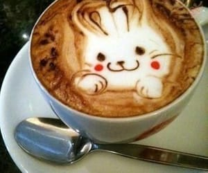 coffee and bunny image