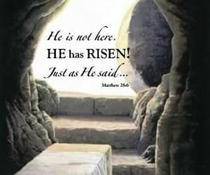 happy easter, jesus, and he is risen image