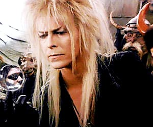 david bowie, gif, and labyrinth image
