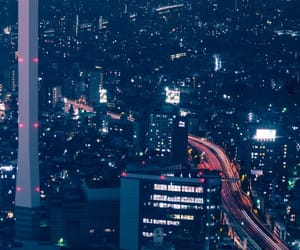 city, cityscape, and lights image