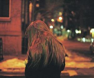 street, grunge, and night image
