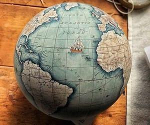 aventura, globo terráqueo, and inspiracion image
