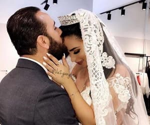 husband, mariage, and robe mariee image