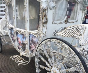 princess, cinderella, and carriage image