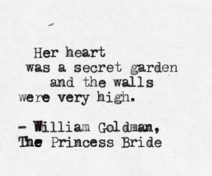 quote, heart, and william goldman image
