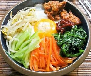 food and bibimbap image