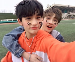 hyunjin, stray kids, and Chan image