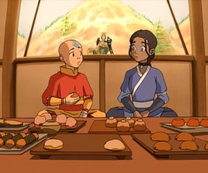 avatar, aang, and kataang image