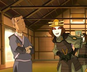 avatar, avatar the last airbender, and suki image