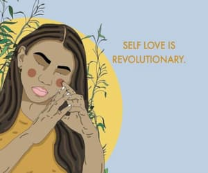 quotes, self love, and love image