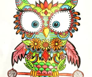 artistic, colors, and drawing image