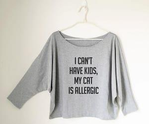 etsy, women t shirt, and fashion image