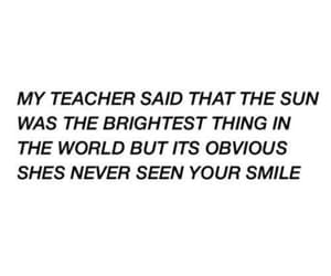 quotes, smile, and sun image