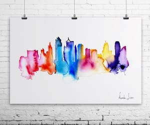 colors and skyline image
