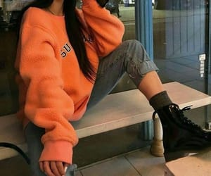 black boots, outfit inspiration, and aesthetic outfit image