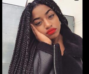 braid, melanin, and beauty image