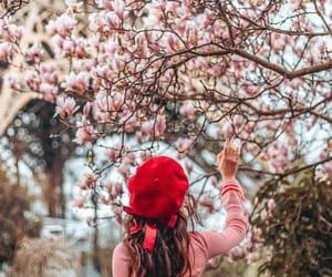 baret, blossom, and bow image