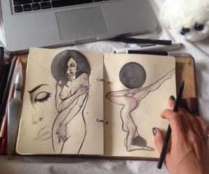 drawing and nude art image