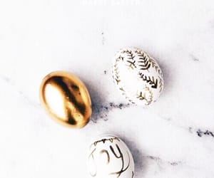 easter, white, and eggs image