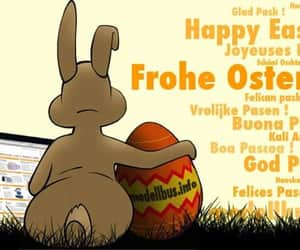 april, hase, and froheostern image