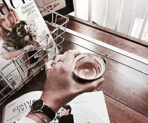 accessories, chill, and coffee image