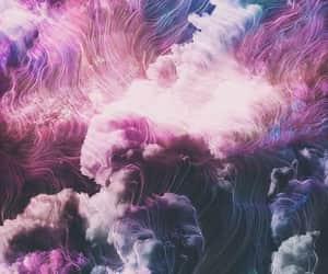 pink, purple, and smoke image