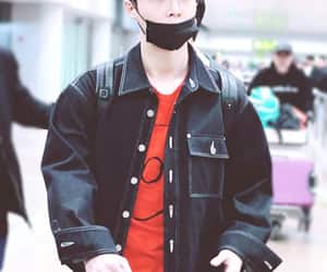 airport, yixing, and black hair image