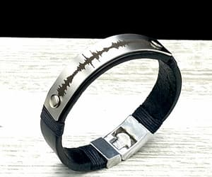 bracelet, anniversary gift, and leather craft image