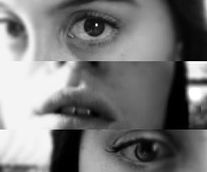 art, eyes, and mine image