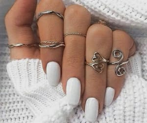 beauty, nails, and tumblr image