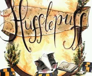 harry potter, hogwarts, and hufflepuff image