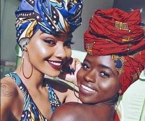 beauty, women, and melanin image