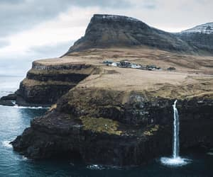 adventure, faroe islands, and landscape image