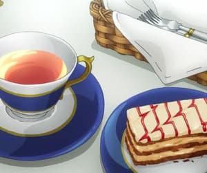 tea and anime food image