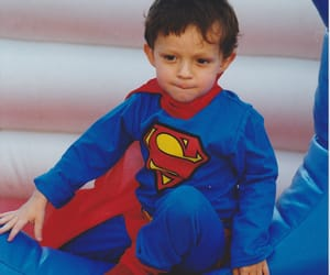 tom holland, baby, and spiderman image