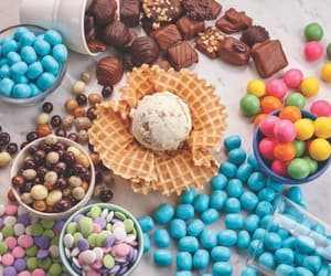april, colorful, and desserts image