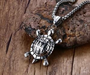 turtle and turtle pendant image
