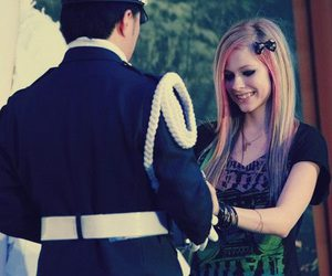 Avril Lavigne and hair image