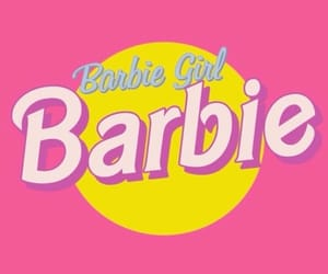 barbie, pink, and girl image